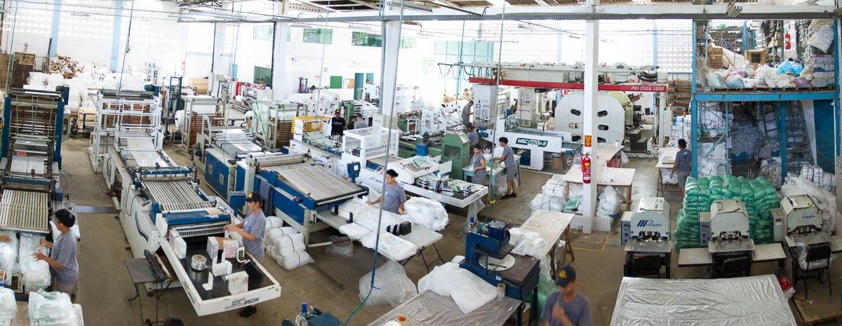 Área Fabril da São Bernardo Solução em Embalagens