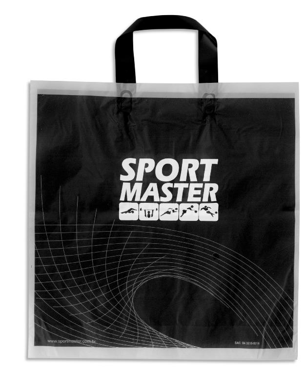 Sacola Plástica Alça Prensada - Sport Master