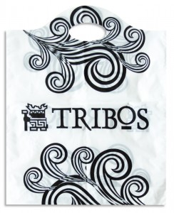 Sacola Plástica Alça Curvada - Tribos