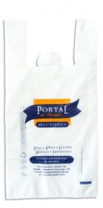 Sacola Plástica Camiseta - Portal de Piedade